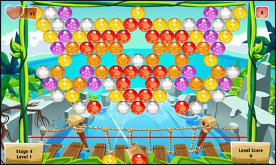 Facebook Фейсбук игра - Bubble Island