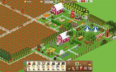 Facebook Фейсбук игра - Farm Town