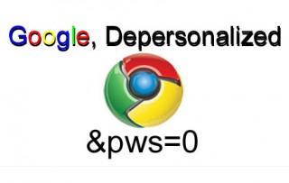 Де-персонализиране на Резултатите при търсене в Google