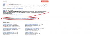 Ревюта в Google Places от други източници