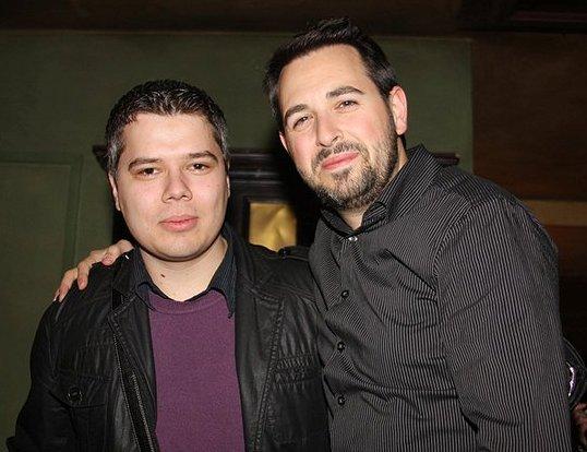 Иво Илиев (вляво) с нашият приятел Ранд Фишкин (вдясно)