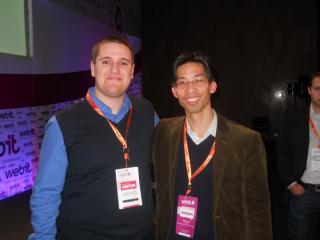 Webit 2010 Marvin Liao (Yahoo!) и Евгени Йорданов (SEOптимизация)
