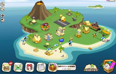 Facebook Фейсбук игра - Tiki Resort