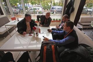 Webit 2010 Огнян Младенов, Борис Луканов, Пламен Петров и Евгени Йорданов