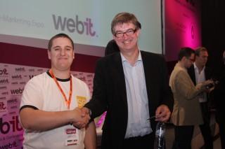 Webit 2010 Tom Bowman (BBC) и Евгени Йорданов (SEOптимизация)