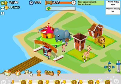 Facebook Фейсбук игра - Zoo World