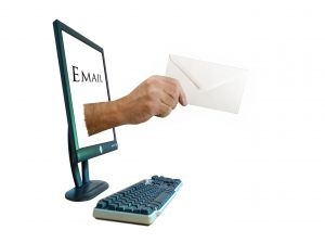 e-mail opt-in banner