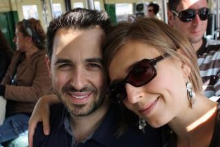 Ранд Фишкин и жена му Джералдин