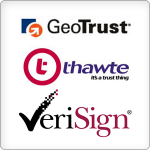 Издатели на SSL сертификати - GeoTrust, Thawte, VeriSign